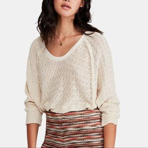 Free People Thien's Hacci Sweater